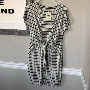 NWT dress, faux wrap, perfect condition
